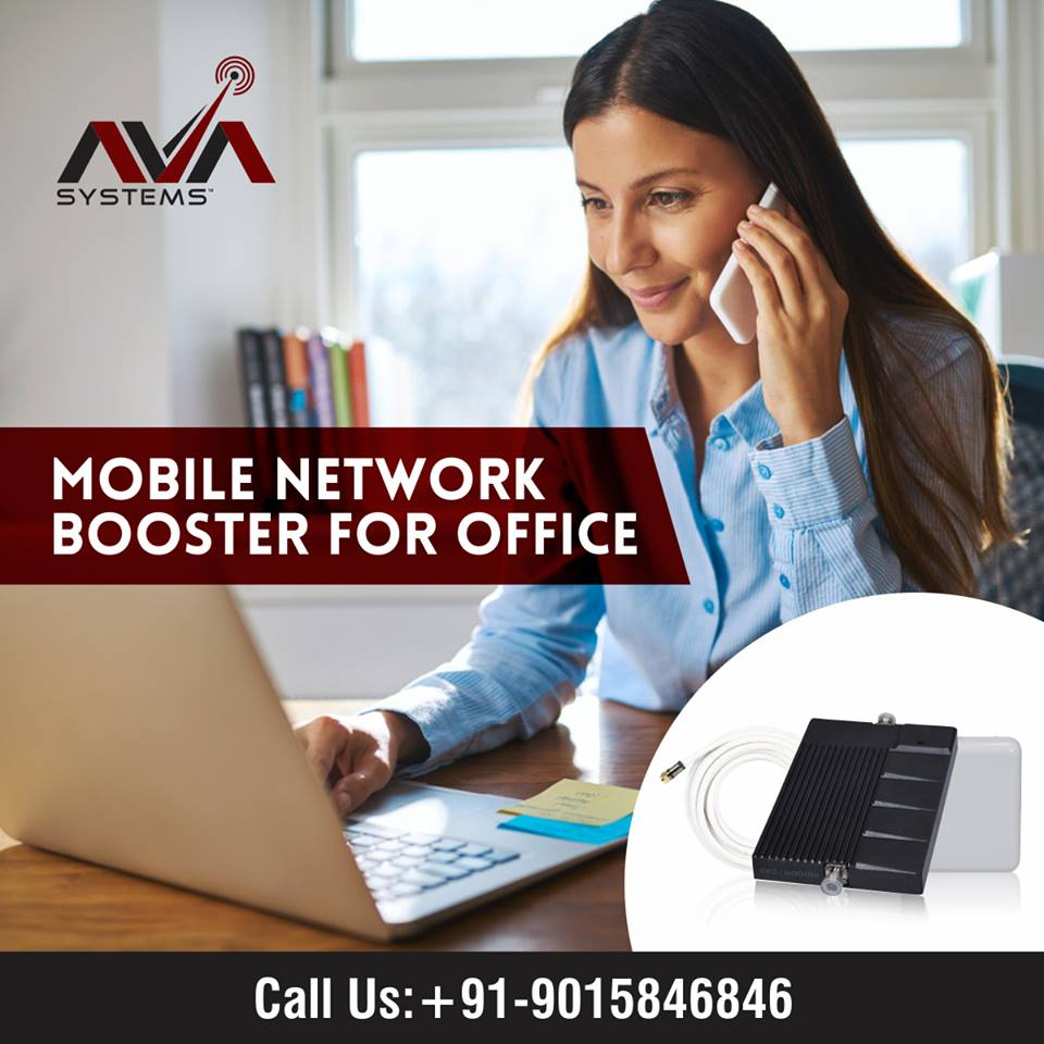 Mobile Phone Network Booster For Office