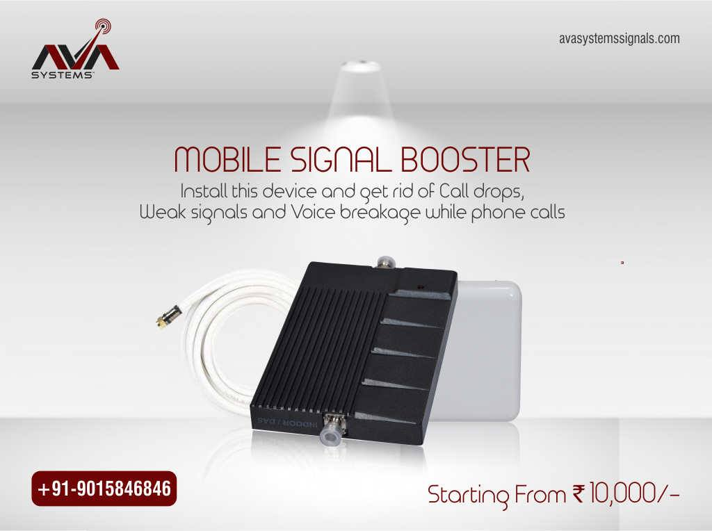 cell phone signal booster device